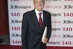 Il Messaggero 140 Anni festa a Cinecitta' - invitati, Romano Prodi Paolo Rizzo/Ag.Toiati