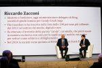 Il Messaggero 140 anni festa a Cinecittˆ. Nella foto: Riccardo Zacconi e Andrea Andrei