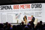 Il Messaggero 140 anni festa a Cinecittˆ. Nella foto: Simona Quadarella e Massimo Caputi