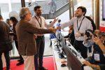 Maker Faire 2018. Maestro Vessicchio allo stand del Messaggero. Foto Gabrielli/Ag.Toiati